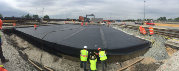Bridge Deck Waterproof Polyurea Membrane by TCS